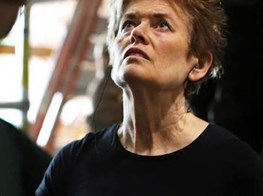 Sculptor Ursula von Rydingsvard prepares for her first British show