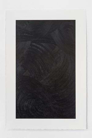 Black Landscape VII by Magda Delgado contemporary artwork