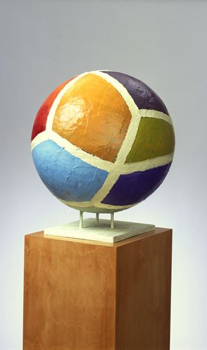 Globale Malerei No.12 by Anton Henning contemporary artwork