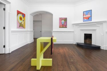 Contemporary art exhibition, Thomas Scheibitz, Black Swan at Sprüth Magers, London, United Kingdom