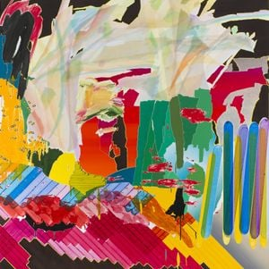 After De Kooning No.13 by Seoul Kim contemporary artwork painting