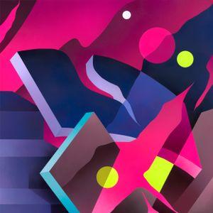 NIGHT WALK #1 by Mikael B contemporary artwork