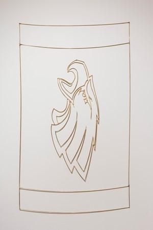 Iggles / fan blanket by Marley Dawson contemporary artwork