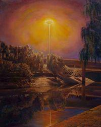 Si Yuan Bridge 四元橋 by Lu Liang contemporary artwork painting
