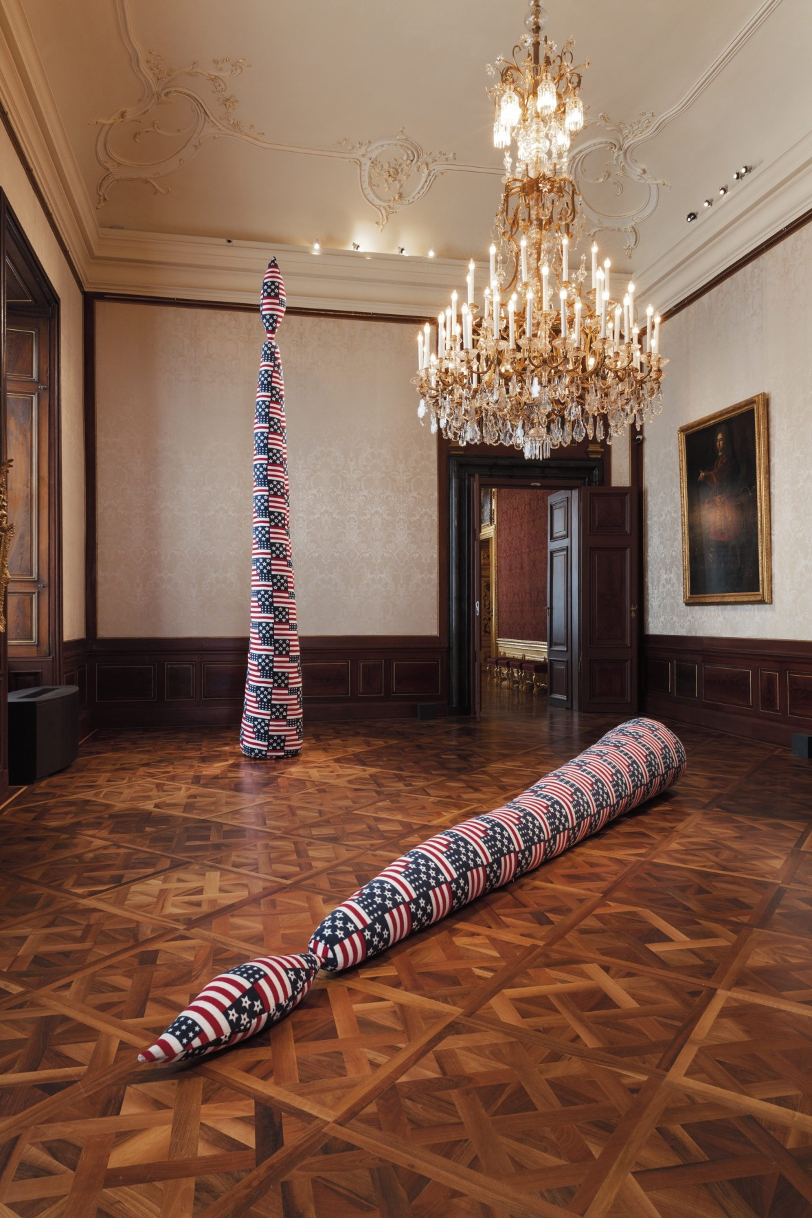 Image: Exhibition view, Sterling Ruby, 2016, Winterpalais. © Belvedere, Vienna