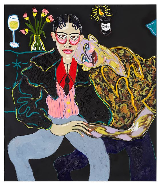The Lovers by Constance Tenvik contemporary artwork