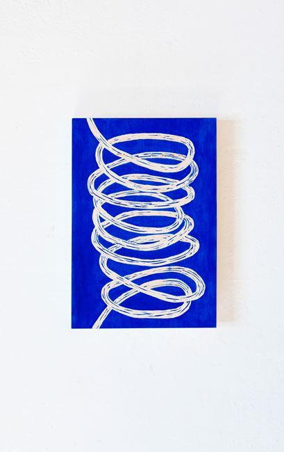 Blue loop by Claudia Terstappen contemporary artwork