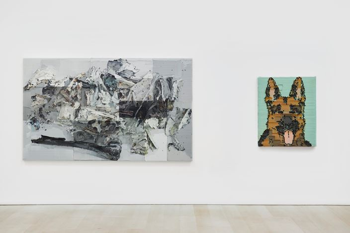 Exhibition view: Li Songsong, One of My Ancestors, Pace Gallery, New York ( 25 October–21 December 2019). Courtesy Pace Gallery.