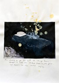 Empty Bed I by Claire Lee contemporary artwork works on paper