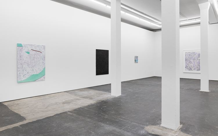 Exhibition view: Iulia Nistor, Revenge of the Given, Plan B, Berlin (13 September–9 November 2019). Courtesy the artist and Plan B Cluj, Berlin. Photo: Trevor Good.
