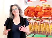 Galerie nächst St. Stephan: Jessica Stockholder on her exhibition - Snug Parting