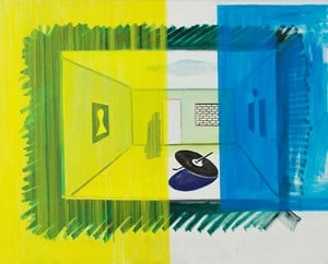 Untitled (RD-S032) by René Daniëls contemporary artwork