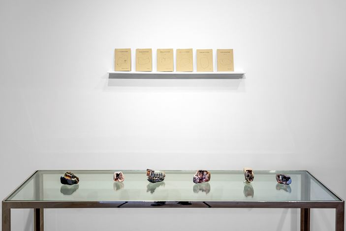 Exhibition view: Group Exhibition, Enter Through The Headset 4, Gazelli Art House, London (6 September–28 September 2019). Courtesy Deniz Guzel and Gazelli Art House.