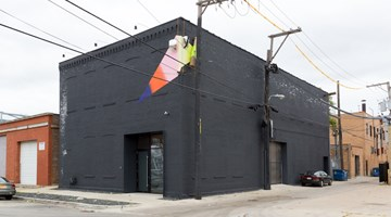 Kavi Gupta contemporary art gallery in Elizabeth St, Chicago, USA