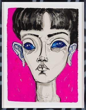 through silent halls by Del Kathryn Barton contemporary artwork
