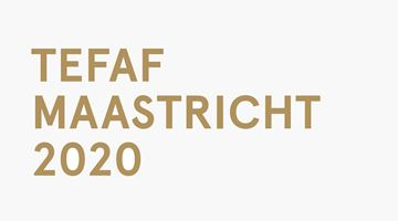 Contemporary art exhibition, TEFAF Maastricht 2020 at Galerie Laurentin, Paris - Bruxelles