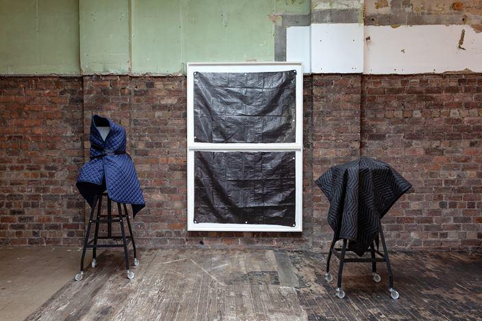 Exhibition view:Gardar Eide Einarsson,How to Survive in the West,The Modern Institute, Aird's Lane Bricks Space, Glasgow (28 September–2 November 2019). Courtesy The Artist and The Modern Institute/Toby Webster Ltd., Glasgow. Photo: Patrick Jameson.