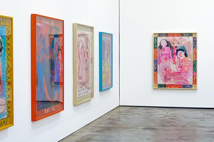 Exhibition view: Pia Camil, Ríe ahora, llora después,Galería OMR, Mexico City (4 February–4 April 2020). Courtesy the artist and Galería OMR. Photo: David Diaz Medina © 2020.