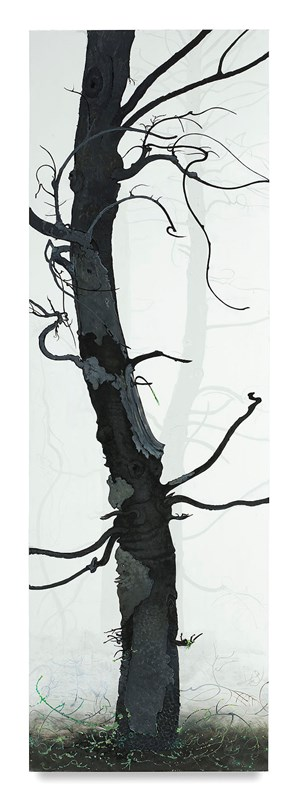 Arbor Ignudi #2 by Inka Essenhigh contemporary artwork