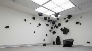 Contemporary art exhibition, Ding Yi, Ivory Black at ShanghART, Singapore