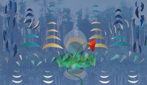 Moonlight - Mahināpua Creek by Kate Woods contemporary artwork