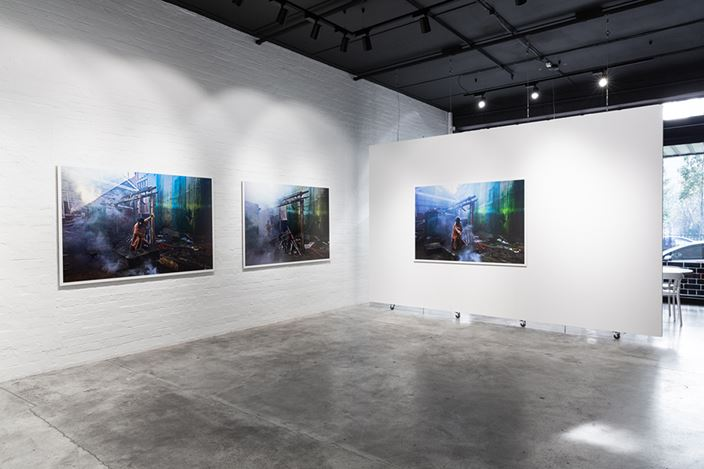 Exhibition view: Jill Orr, Detritus Springs, THIS IS NO FANTASY nicola stein + dianne tanzer, Melbourne (10 June–4 July 2020). Courtesy THIS IS NO FANTASY nicola stein + dianne tanzer. Photo: Janelle Low.