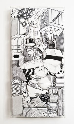 Games, Dance, and the Constructions (soft toys) #22 by Teppei Kaneuji contemporary artwork