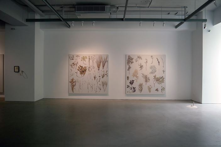 Exhibition view: Chen Wan-Jen, Juan Zamora,↻, Double Square Gallery, Taipei (14 July–22 August 2020). Courtesy Double Square Gallery, Taipei.