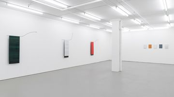 Contemporary art exhibition, Helen Calder & Christoph Dahlhausen, Reflecting on Light and Paint at Bartley & Company Art, Wellington