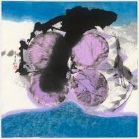 天地有大愛 Love of the Earth by Lee Chung-Chung contemporary artwork painting, works on paper, drawing