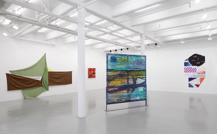 Exhibition view: Group Exhibition, Painters Reply: Experimental Painting in the 1970s and now, Lisson Gallery, 10th Avenue, New York (27 June–9 August 2019). Courtesy Lisson Gallery.