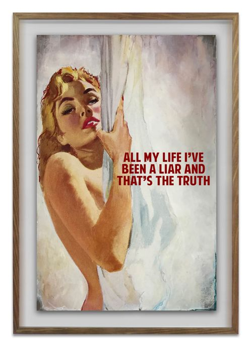 All My Life I've Been A Liar by The Connor Brothers contemporary artwork