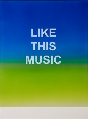 Like This Music by Wonwoo Lee contemporary artwork