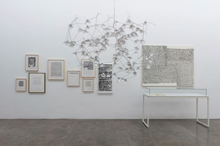 Exhibition view: León Ferrari,For a World with No Hell, São Paulo(10 April–30 May 2018). Courtesy the artist and Galeria Nara Roesler. Photo Everton Ballardin © .