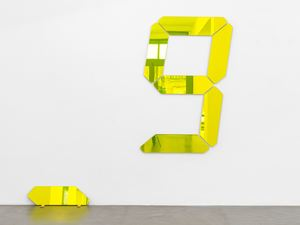Counter Object - 000 by Tatsuo Miyajima contemporary artwork