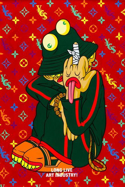 The Breaking of Our Middle Finger by Uji 'Hahan' Handoko Eko Saputro contemporary artwork