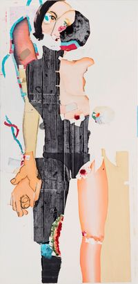Untitled (53) by Magnus Plessen contemporary artwork painting