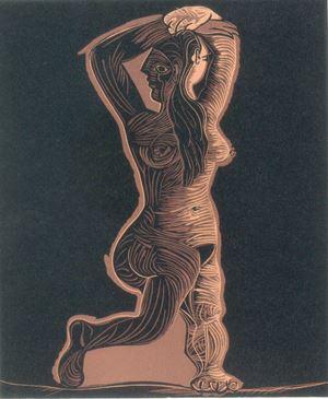 Grand Nu de Femme by Pablo Picasso contemporary artwork