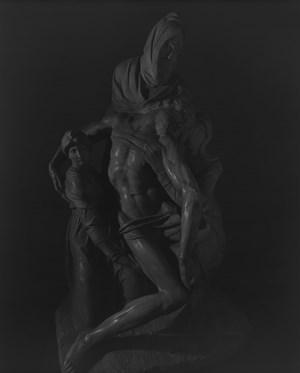 Pieta, by Michelangelo by Hiroshi Sugimoto contemporary artwork