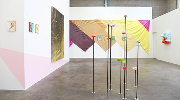 Contemporary art exhibition, Miranda Parkes, the merriest at Jonathan Smart Gallery, Christchurch