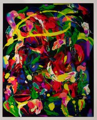 Electric Brainstorm by TV Moore contemporary artwork painting