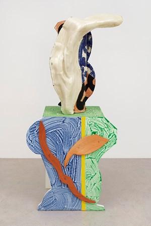 Vase Upon Vase: Aurora by Betty Woodman contemporary artwork