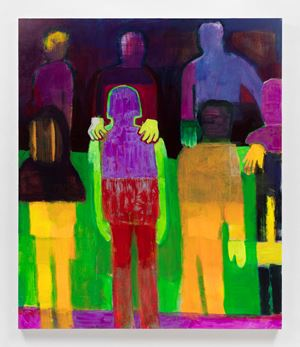 Bright Green Arms by Katherine Bradford contemporary artwork