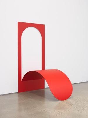 Tongue as a wall piece by Judith Hopf contemporary artwork