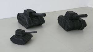 Numero 8 THANKS by Paolo Canevari contemporary artwork sculpture