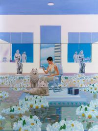Home Sweet Home: Feng Shui Painting, Metal 2 by Mak Ying Tung 2 contemporary artwork painting