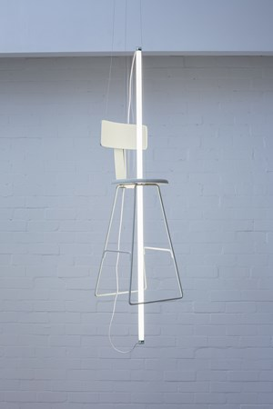 Off White by Bill Culbert contemporary artwork