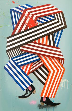 Excuse me Sir, speaking american? Russki? Hegemonic? by Henriette Grahnert contemporary artwork