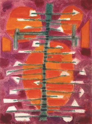 Printemps hollandais by Alfred Manessier contemporary artwork