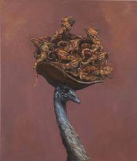 Emu Lounge by Joanna Braithwaite contemporary artwork painting